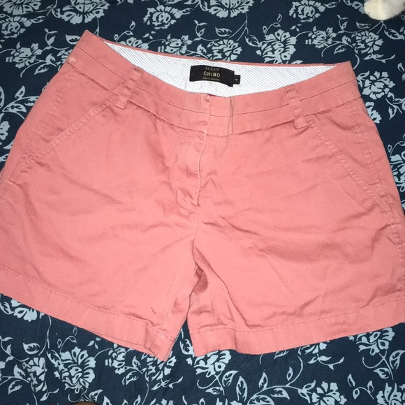 J. Crew Pants - J Crew shorts Chino size 4 Rose colored